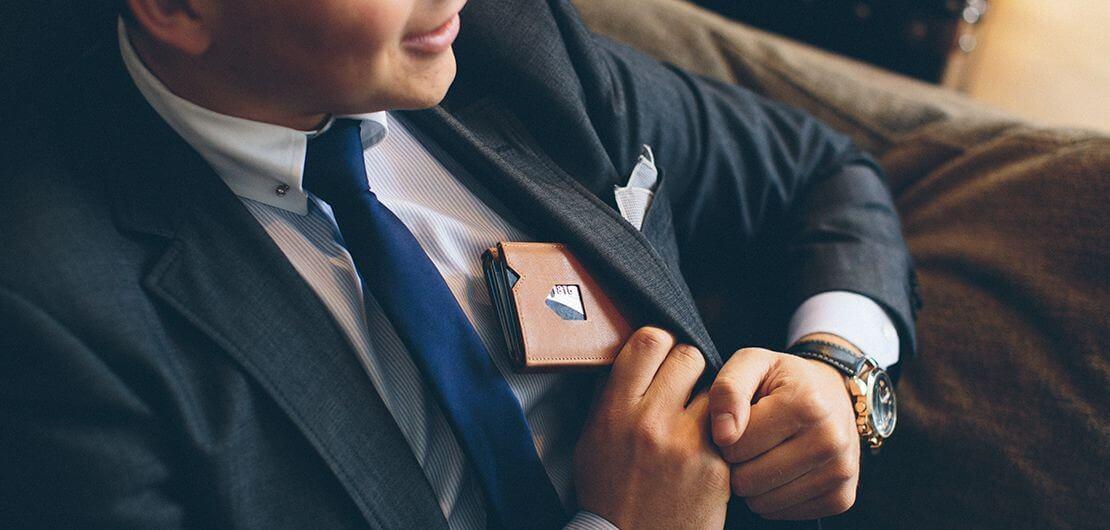 Exentri kortsholder / pung